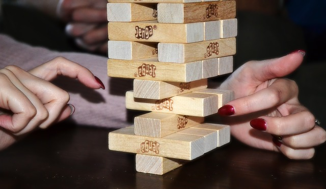 That's...  better than I've ever done in Jenga.
