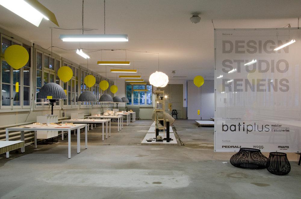 A l'occasion des Design Days de Renens en 2012, le Design Studio Renens se métamorphose afin de devenir un lieu d'exposition pour les membres