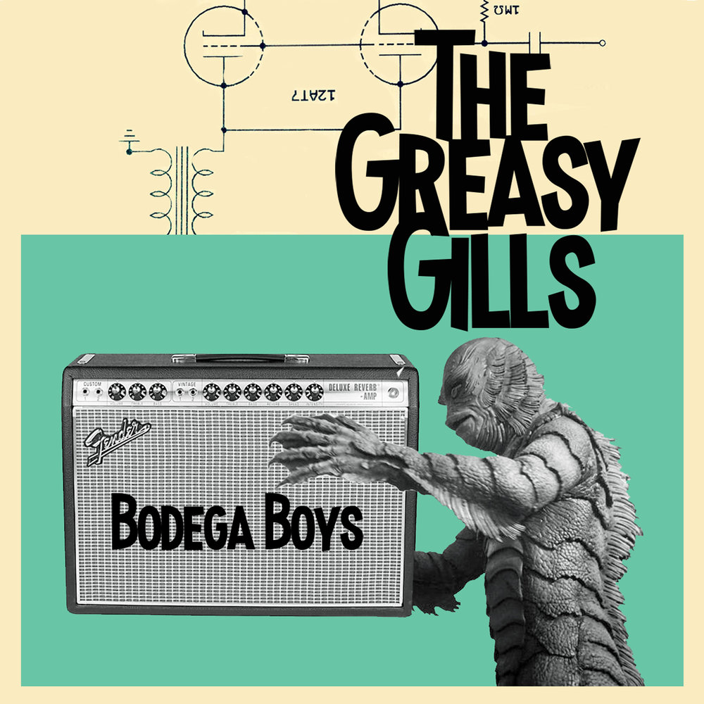 "THE GREASY GILLS  ""Bodega Boys"" - EP (HT-032) Format: Digital"