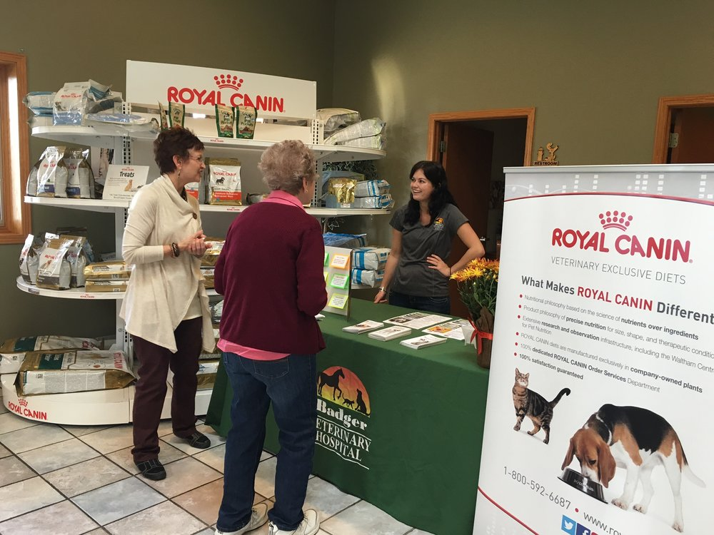 Pet nutrition with Royal Canin at Badger Veterinary Hospital