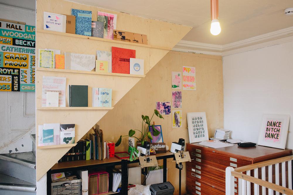 Dizzy Ink, a Nottingham print studio.