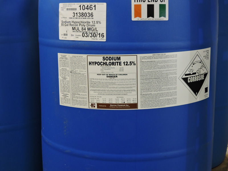 Sodium Hypochlorite 12 5 Perk Products Amp Chemical Co In C