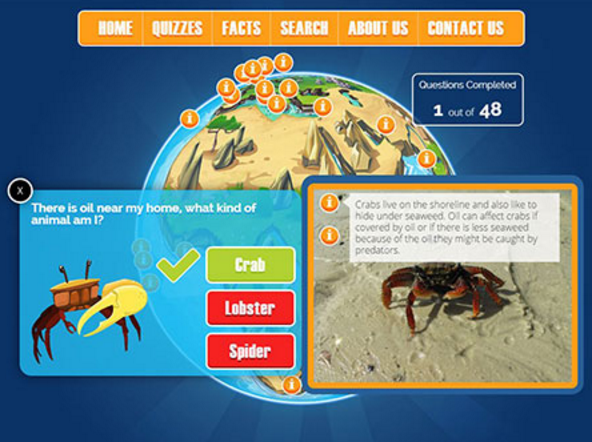 ITOPF Kids Website: Learn about oil spill response and the marine environment!