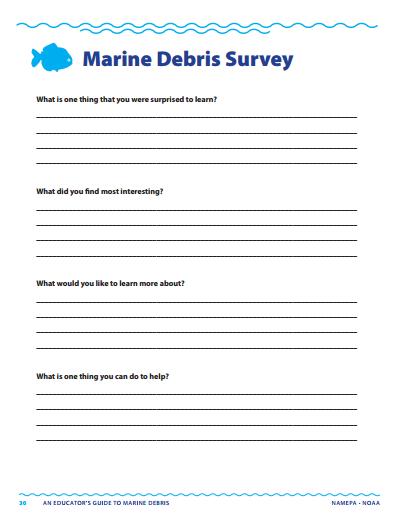 Marine Debris Survey