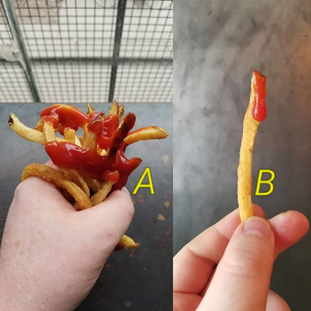 What kind of french fry and ketchup person are you?