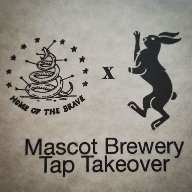@thehotb x @mascotbrewery TAP TAKEOVER starts...NOW!!! come by the shop and sip!