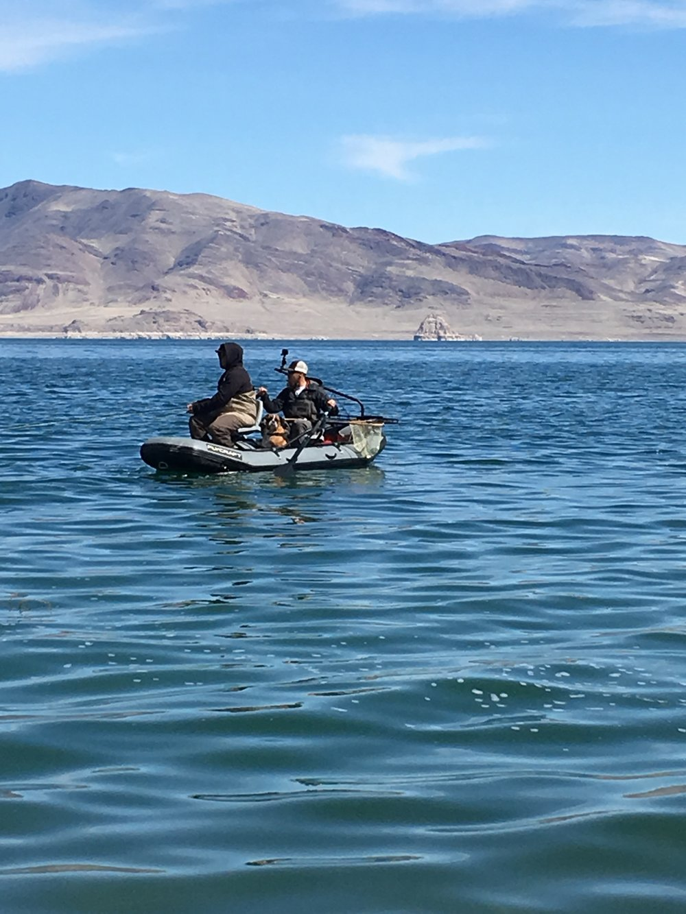 "PFC Guide Chris Nicola and Morgan ""Momothemeatman"" Ropin fish in the new FlyCraft. Stay tuned for an upcoming article on how PFC uses their FlyCraft"