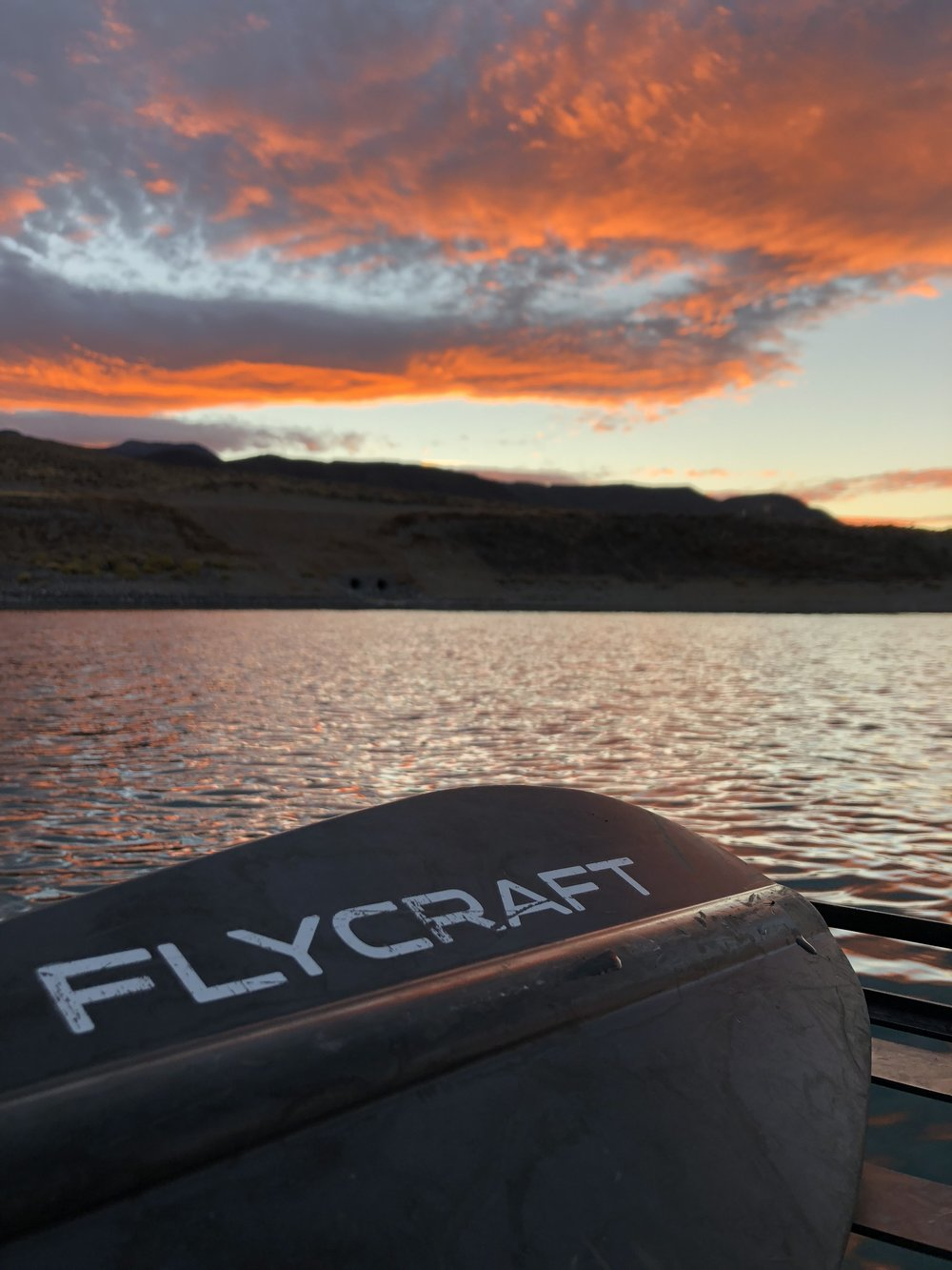 Sunset on the water doesn't get any better then this.      Photo By: Casey Anderson