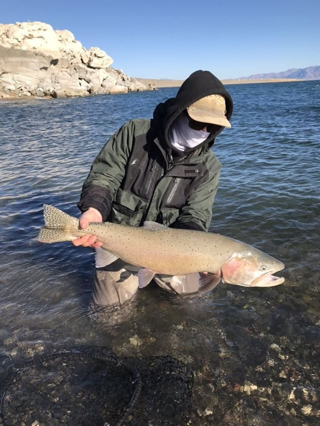 Pyramid Fly Co Rep Trevor Herring didn't let this Cutty fool him