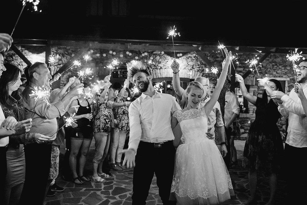 Svatební den a noc 23000Kč - Čím víc se rozjedete, tím víc budu fotit.