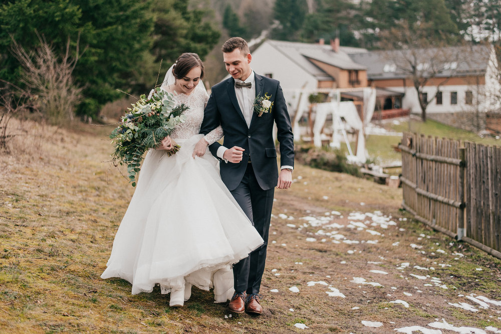 Alžběta a Ondřej - Kouzlo zimní svatby