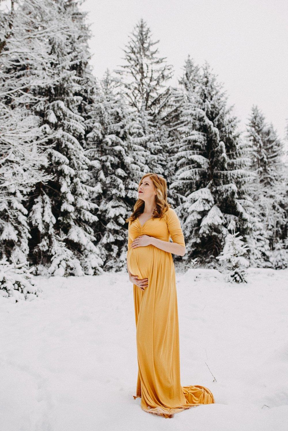 těhotenské focení