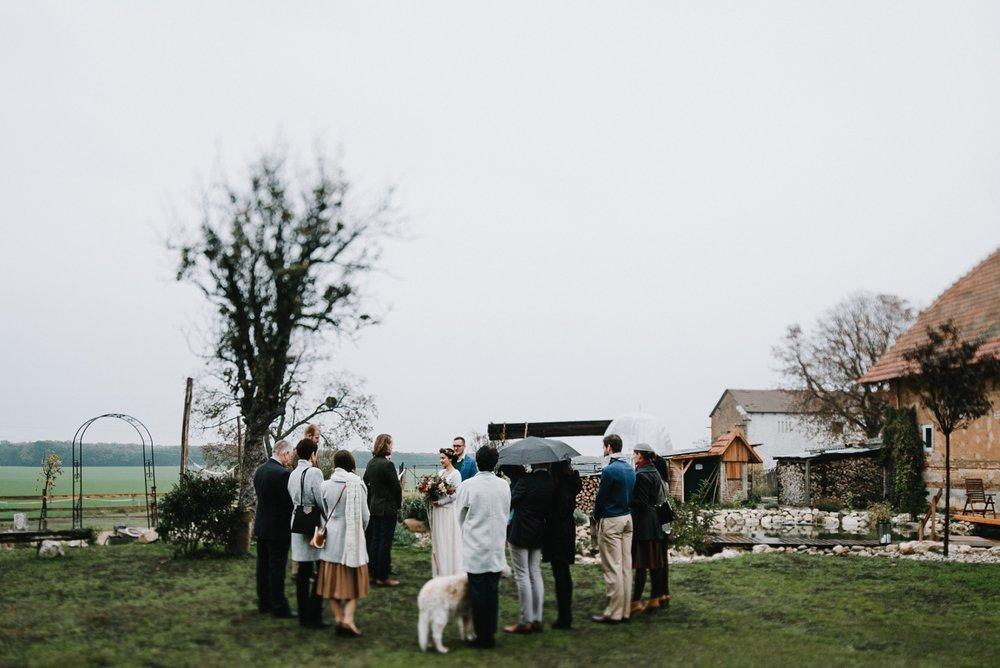 svatba v mlze
