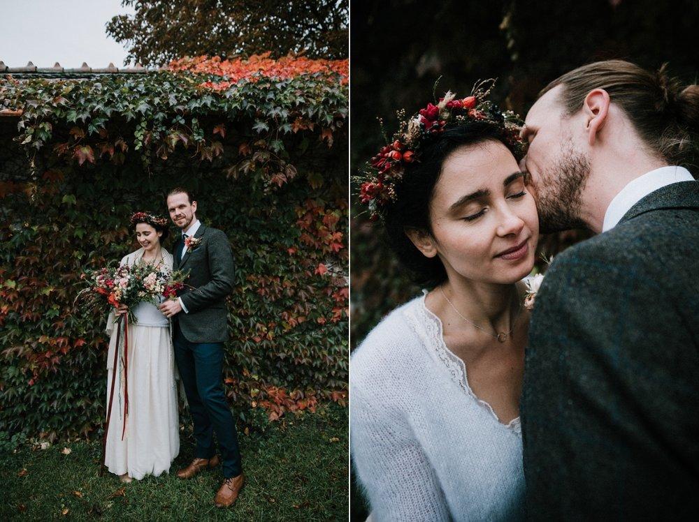 inspirace na podzimní svatbu