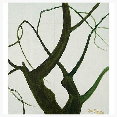 Джан Енли: Маленькие ветви (7), 2015