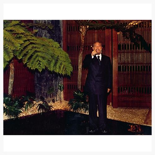 Тарин Саймон: Фидель Кастро, после ужина, Куба, 2003