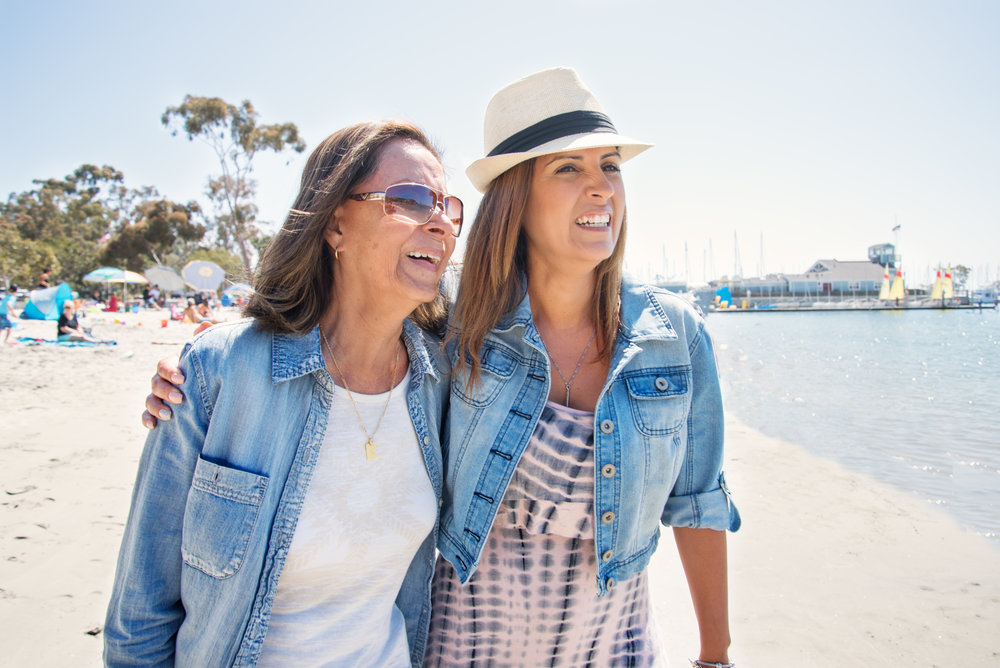Lifestyle Mother and Daughter Commercial Photography On Location California