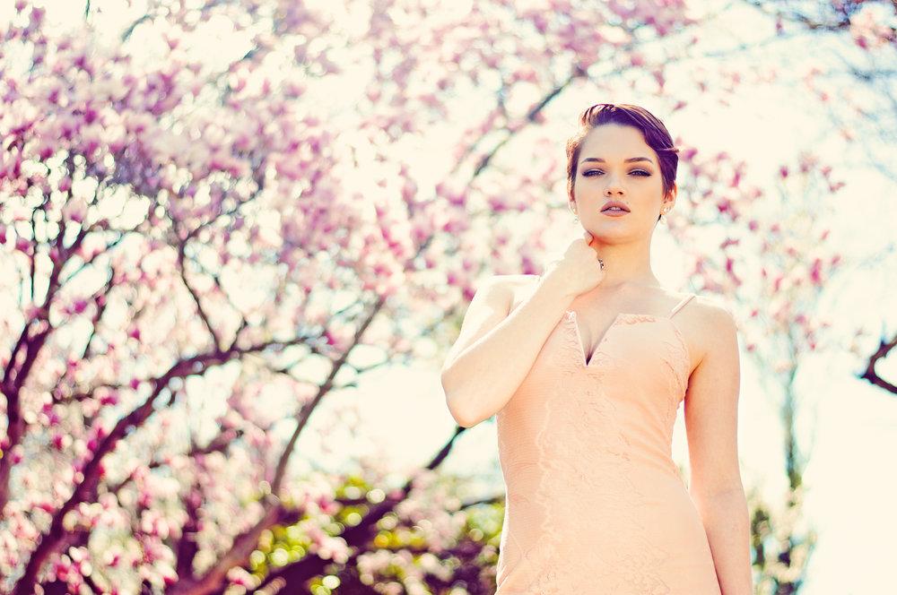 Beauty Portraiture Spring Photoshoot on Location