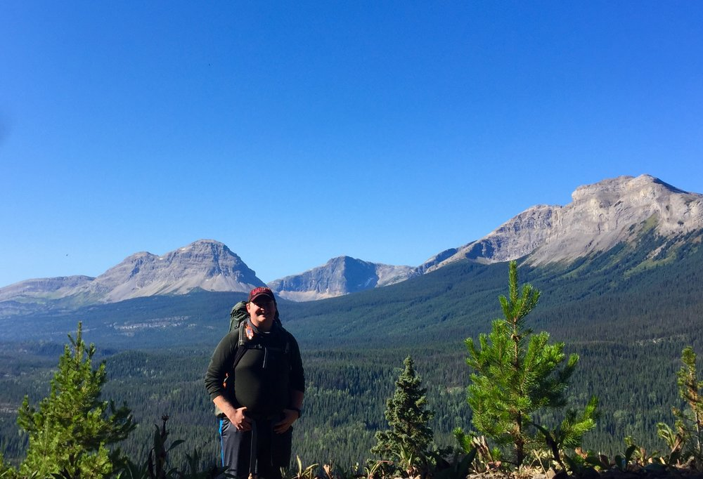 Me on a shakedown hike to the Cascades near Tumbler Ridge, BC in September, 2017