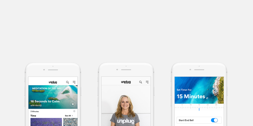 Unplug: Guided Meditation App