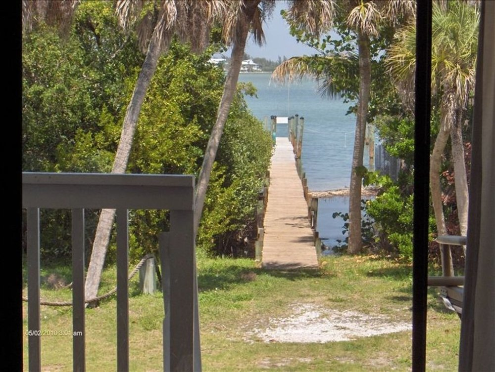 View From House to Private Dock