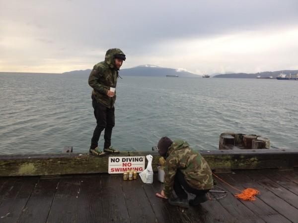 vancouver crabbing