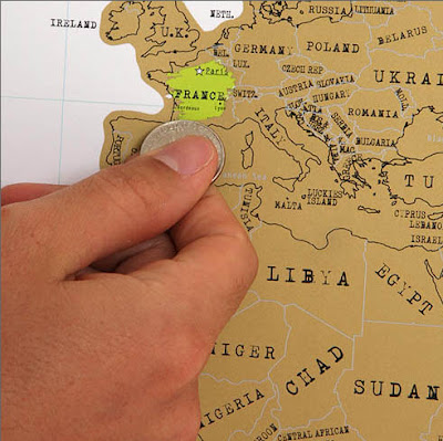 02acf87296 ... map which features a gold top foil layer so that you can scratch off all  the places you've visited to reveal a whole new world below, featuring  vibrant ...