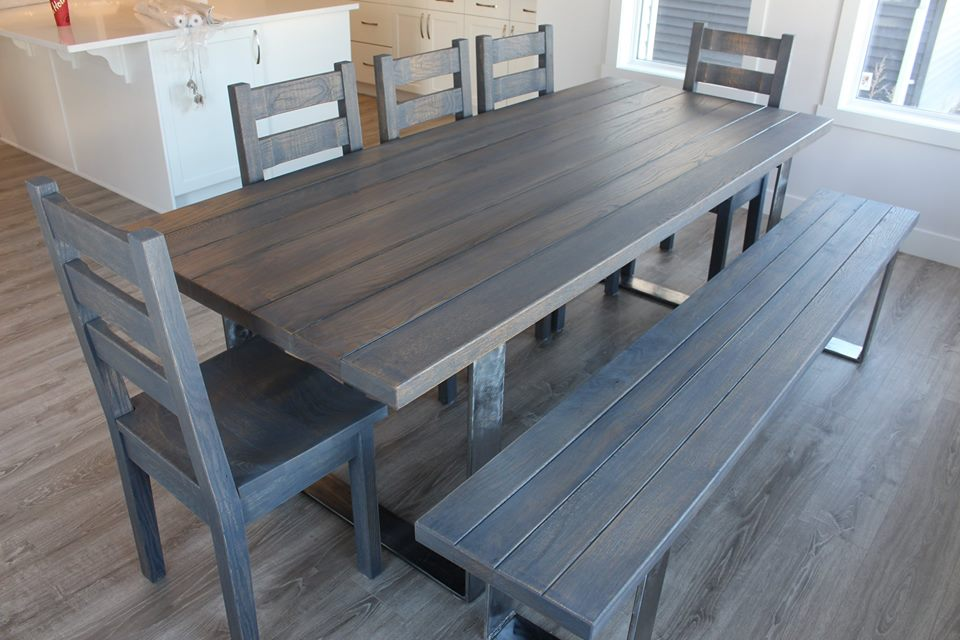 Custom Wood Dining Table