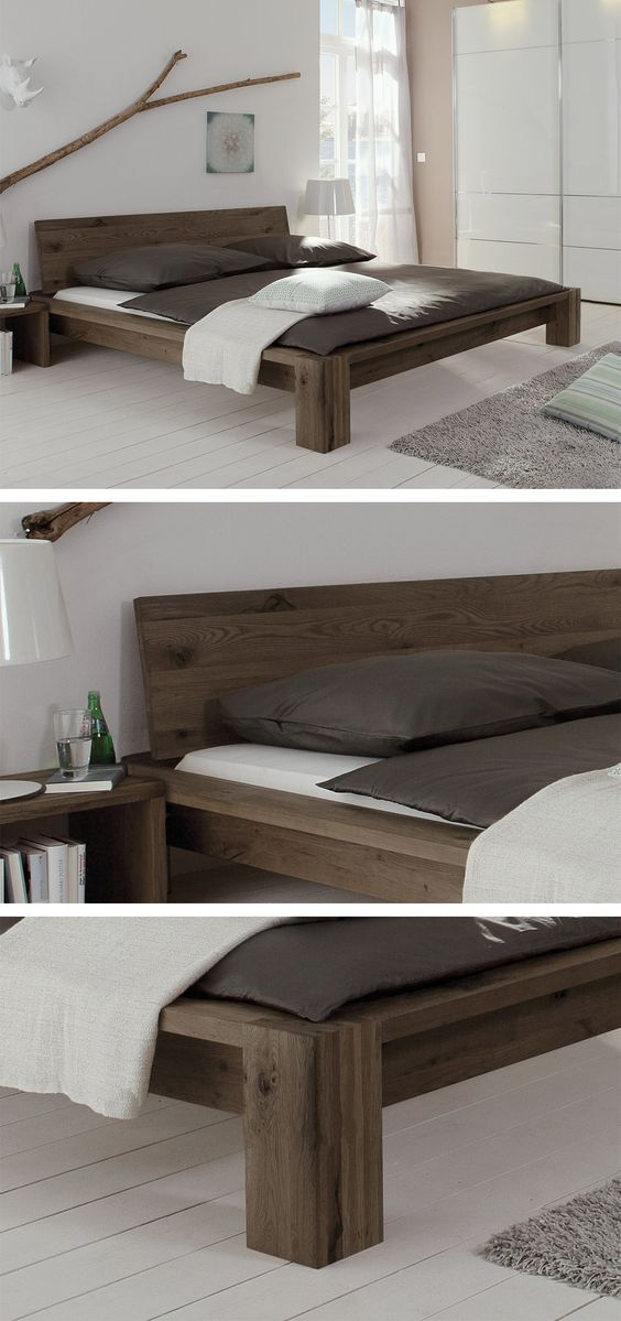 custom wood bed furniture