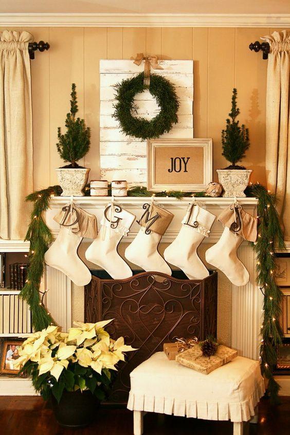 whitechristmasmantel