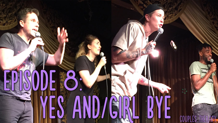 In episode eight, Naomi and Andy bring us sets from best buds Mav Viola (@MavViola) and Anthony Dayo (@MrDay0), and Throwing Shade podcast hosts and friends Bryan Safi (@BryanSafi) and Erin Gibson (@Gibblertron.) Plus Andy and Naomi play us their own set from their June live show. Please rate, review, and tell a friend! Also tickets for the September live show in New York on September 17th at Union Hall are available on the website under 'See Us Live.'