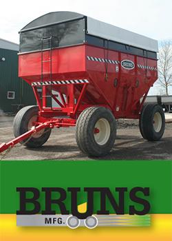 Grain Storage - Bruns Gravity Bins
