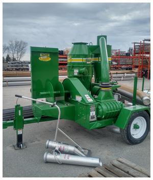 75 hp electric walinga grain vac sold to Maine Grain