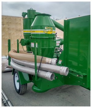 75 hp electric Walinga Grain Vac