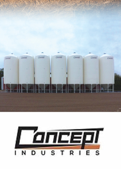 Concept Industries Grain & Feed Bins