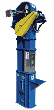 bucket elevator - shown with optional features