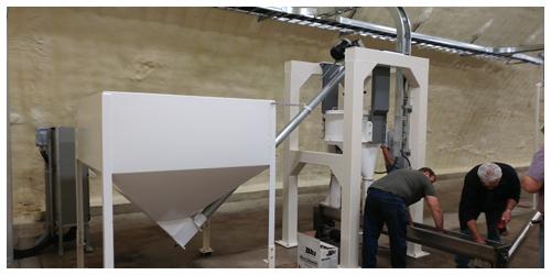 Hemp Dehulling System
