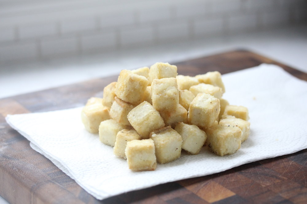 Crispy Tofu - Zested Lemon