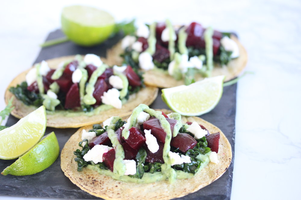 Beet Tacos