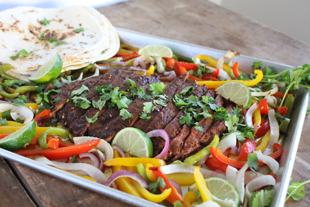 One-Pan Fajitas