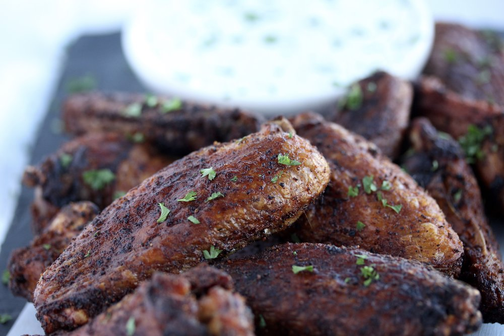 Healthy Crispy Baked Wings