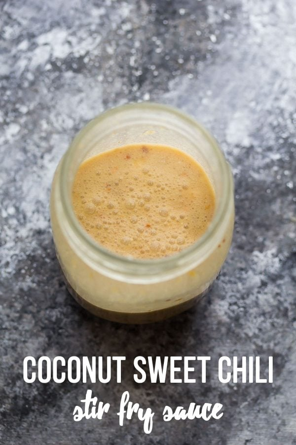 Sweet Chili Coconut Stir Fry Sauce by Sweet Peas and Saffron