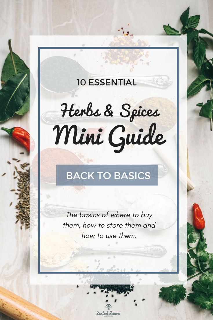 10 Essential Herbs and Spices