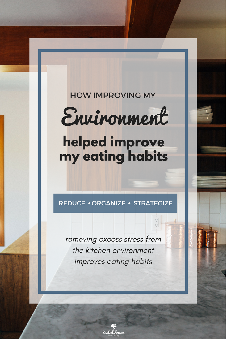 How Improving My Environment Helped Improve My Eating Habits