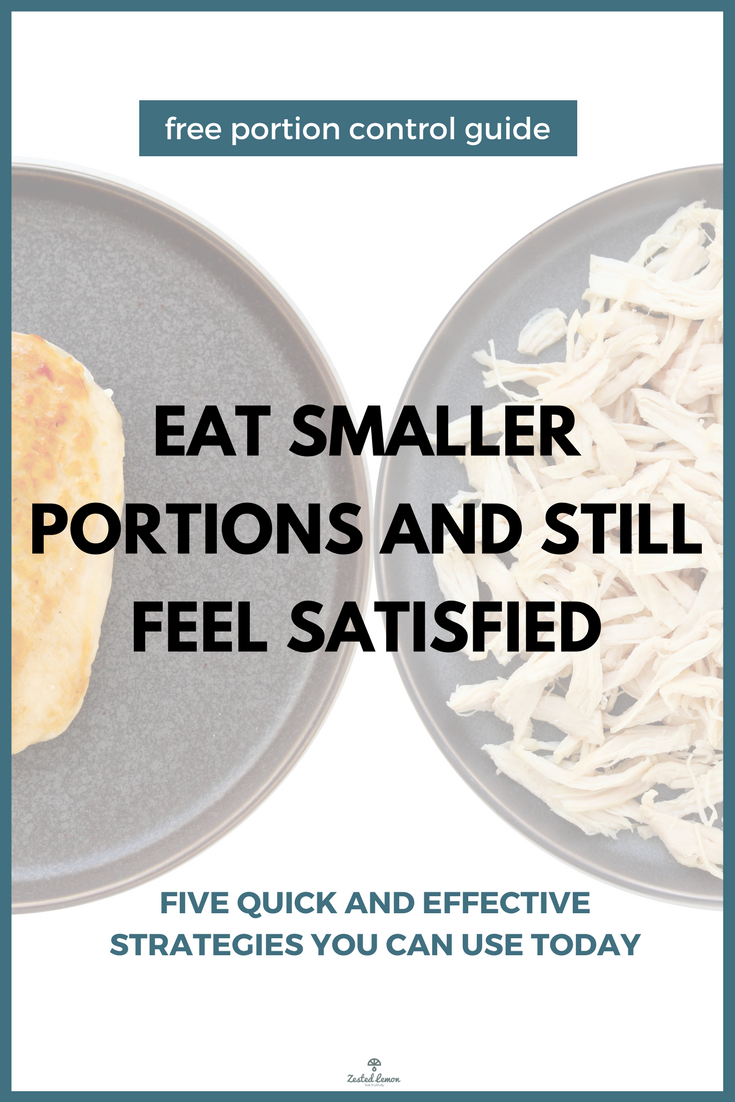 Portion Control Mini Guide