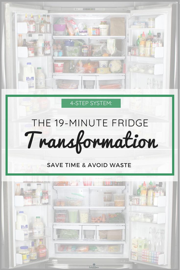 19 Minute Fridge Transformation