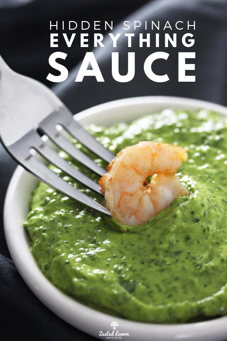 Hidden Spinach Everything Sauce