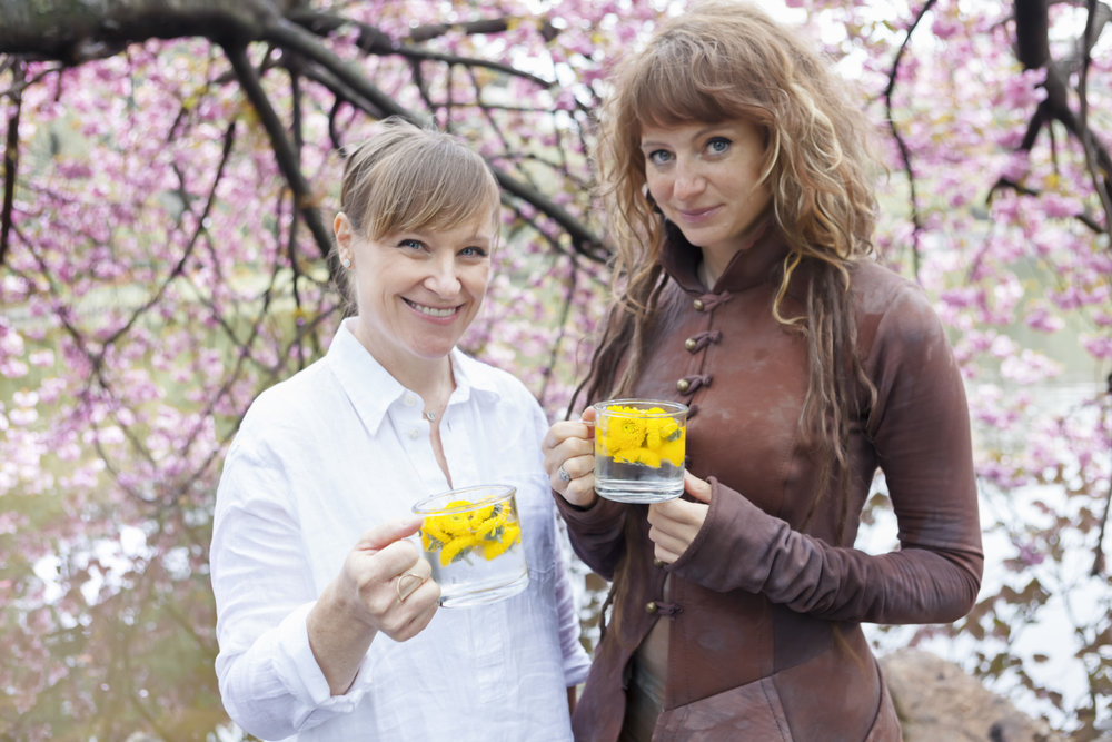 ABBÉ TEA COMPANY CO-FOUNDERS AUTUMN BEAR + ERICA ROBYN BURLEY