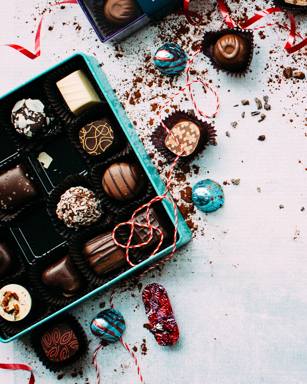If it's not your favorite chocolate put it back. Tricks for a happy healthy new year.