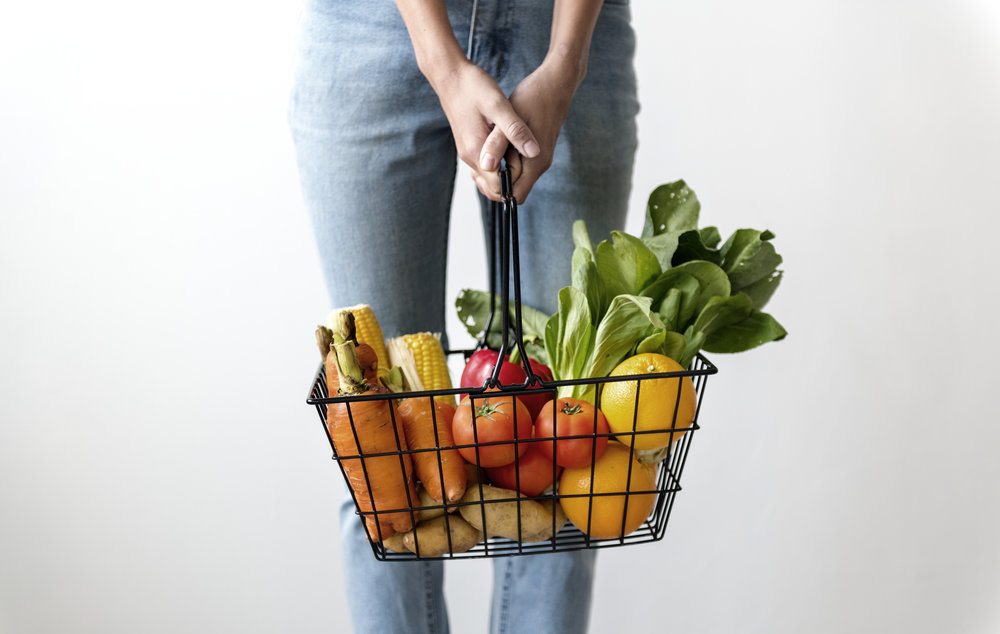 Fresh produce is the quiet food in your basket.